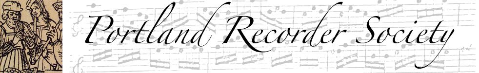 Portland Recorder Society